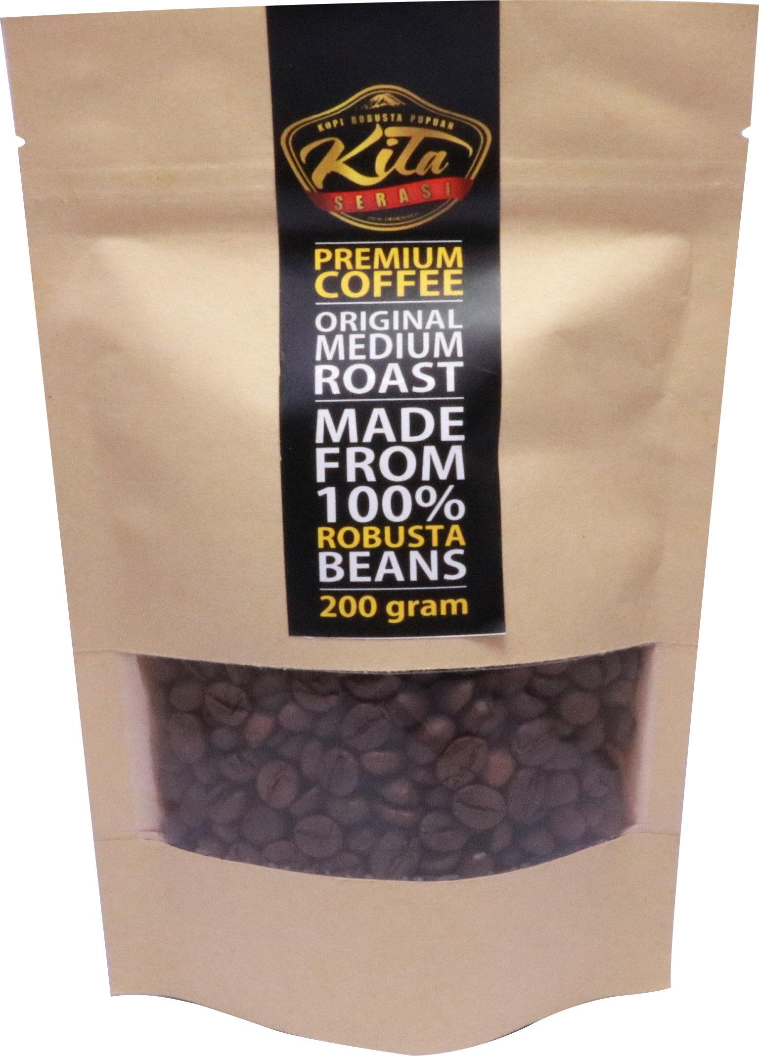Kopi Kita Premium Robusta Bean 200 g