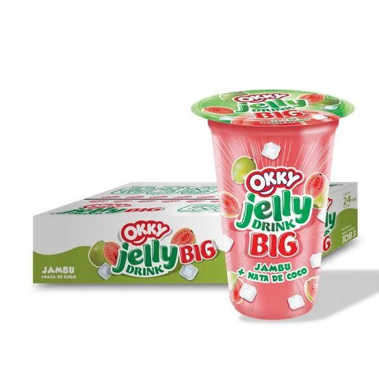 Okky Jelly Drink (anggur, jambu, strobery) BIG