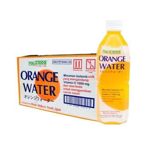 Orange water, Lemon water Kemasan botol