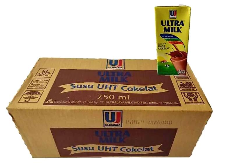 Ultra milk (coklat, fullcream, strobery) UHT 250